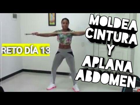 reducir cintura y aplanar abdomen gym virtual