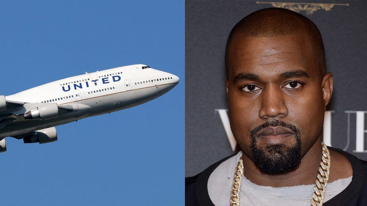 Kanye West Kim Kardashian Fly In Private Boeing 747 Kanye West And Kim Kanye West Kanye