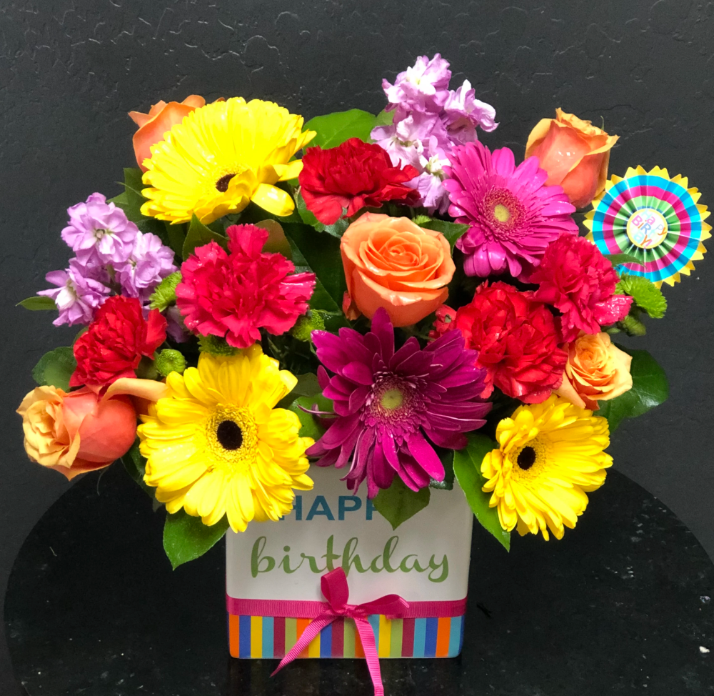 The FTD Birthday Brights Bouquet in Surprise, AZ