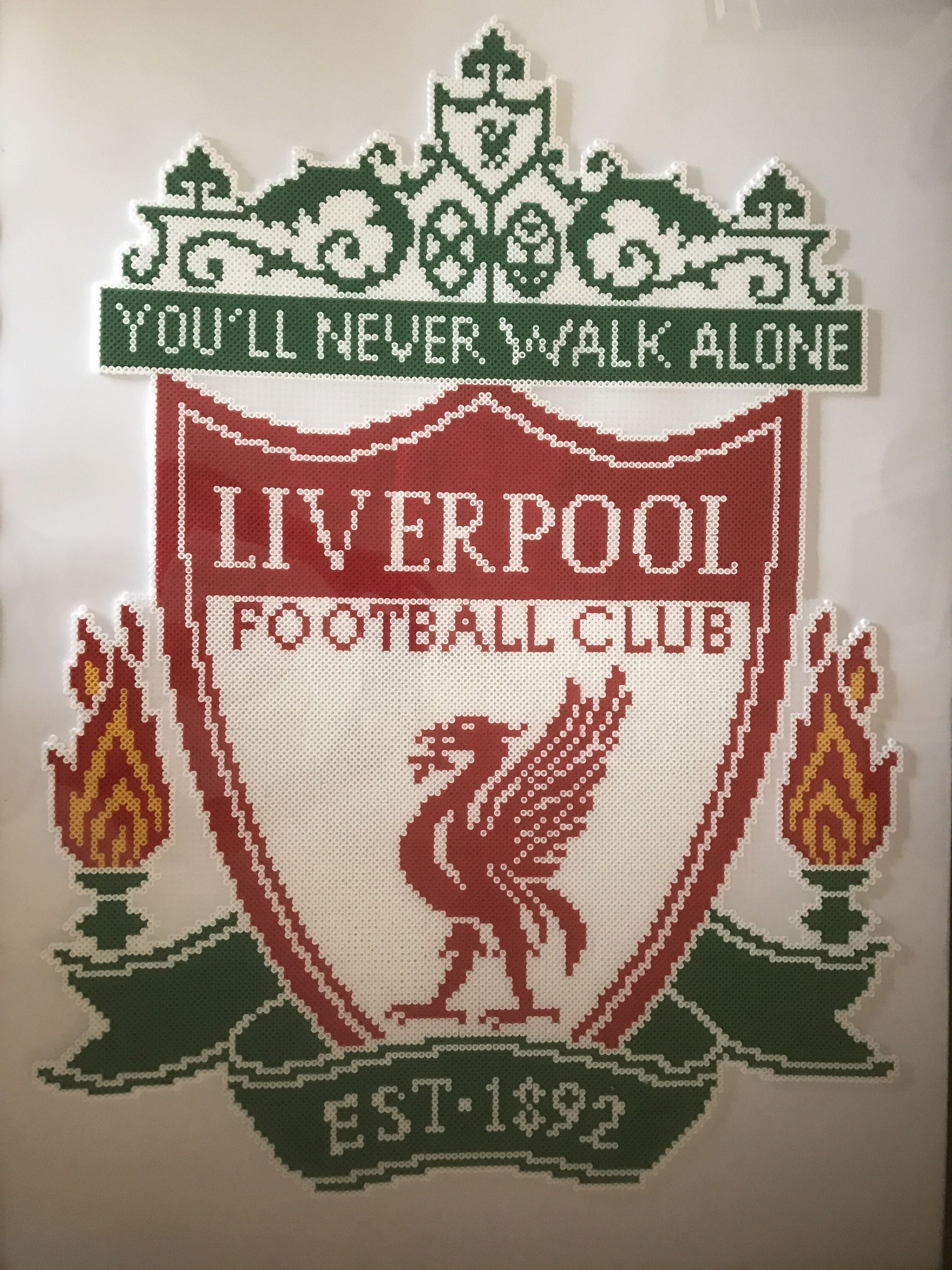 Liverpool | Hama and perler beads | Pinterest
