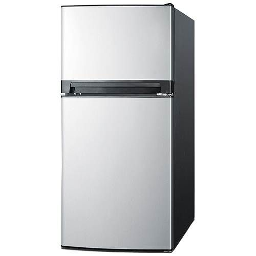 Summit 8.1 Cu. Ft. Frost-Free Apartment Refrigerator Freezer with ...