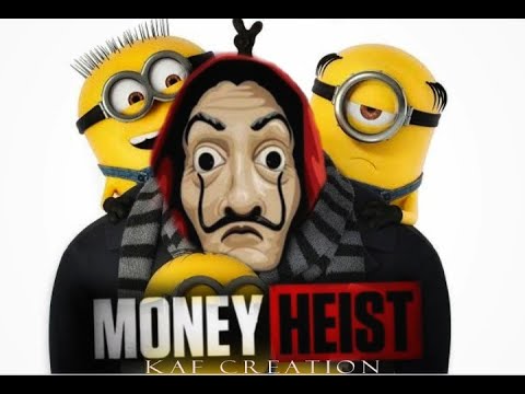 Bella Ciao Minions Version Money Heist Kaf Creation Youtube Minions Ciao Creation