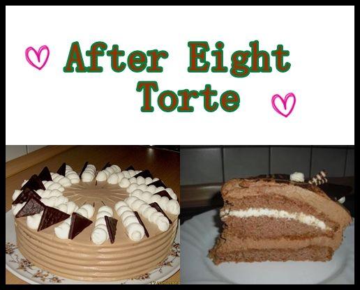 Rezept für After Eight Torte