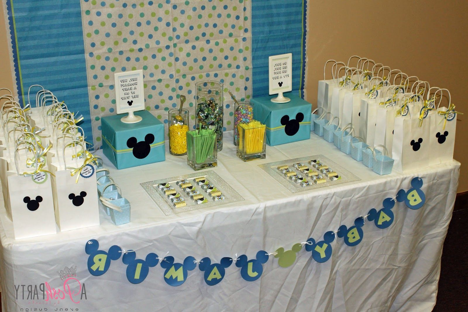 Mickey Mouse Decorations | Baby Mickey Mouse Baby Shower Decorations