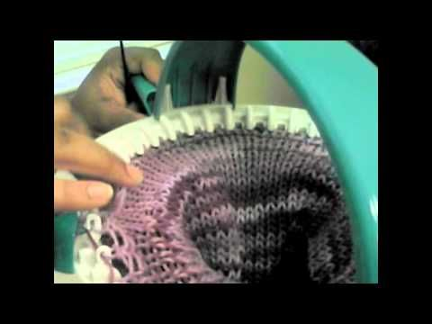Knitting a Beanie on your Innovation Knitting Machine ...