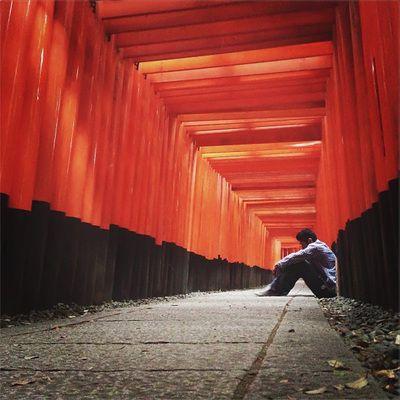 Temple of 1000 Gates at Fushimi Inari