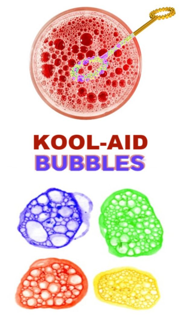 Kool-aid Bubbles