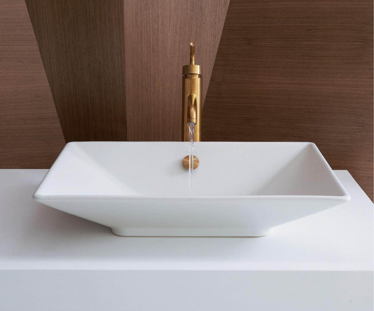 The Bold Look Of Kohler Sink Above Counter Bathroom Sink Kohler