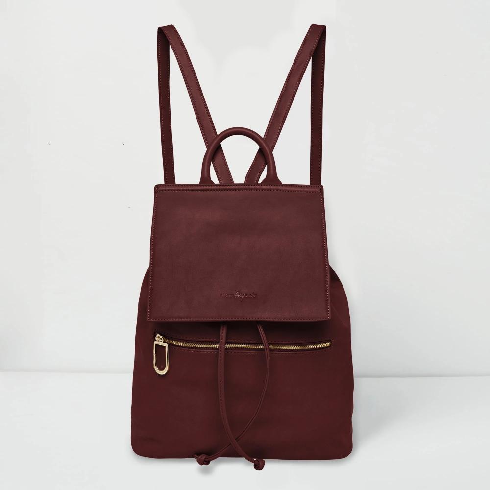 Urban Originals Goodbye Train Tan Backpack Leather