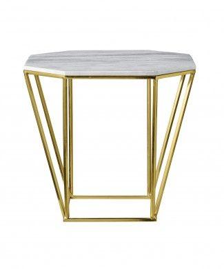 Couchtisch METRIC Metall Marmor gold | couchtische | Pinterest ...