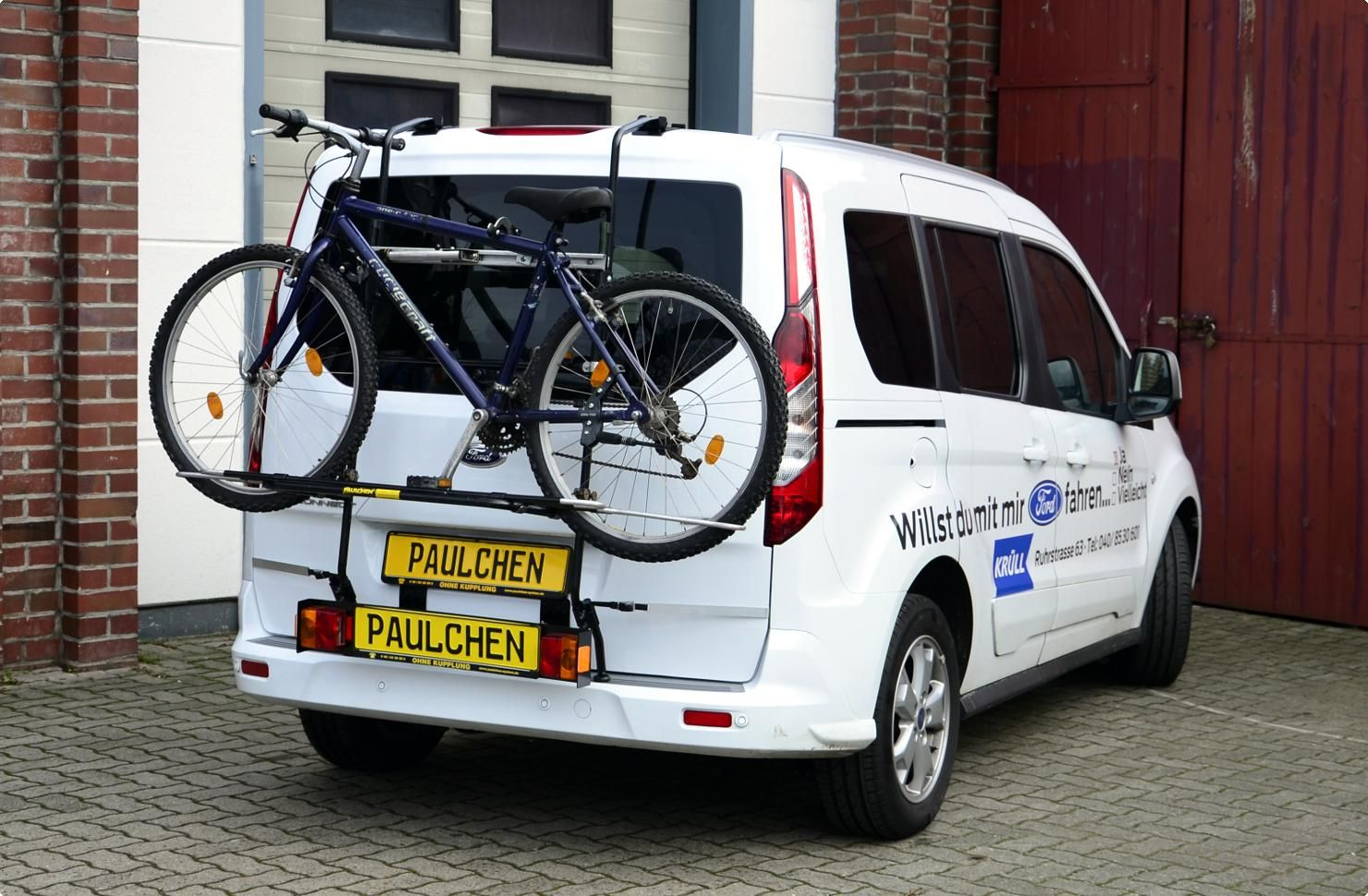 Ford Tourneo Connect Transit Connect Bike Rack Bike Rack Bike