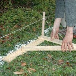 Comment monter une cabane en bois dans son jardin abri - Comment monter une serre de jardin ...