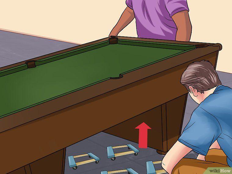 Move a Pool Table Pool table, Pool table room, Pool