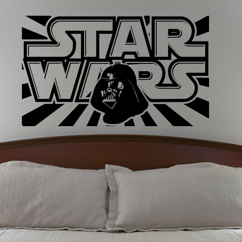 Good Star Wars Darth Vader Wall Decal Vinyl Sticker Living Room Bedroom Decor.  $24.99, Via Part 17