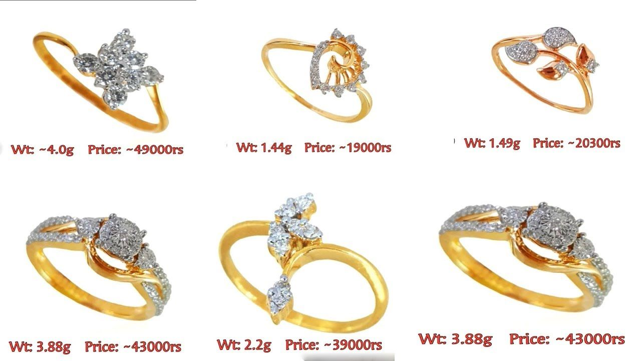 Latest Gold Ring Designs For Women 2018 Daily Office Wear Diamond