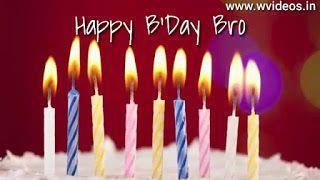 Happy Birthday Wishes For Brother Whatsapp Status Video Whatsapp