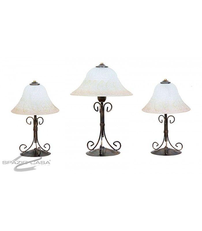 Tris Lampade da tavolo Sole | Illuminazione per la casa | Lampade da ...