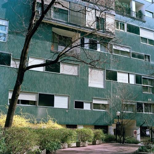 Luiggi Caccia Dominioni - Habitatges Via Ippolito
