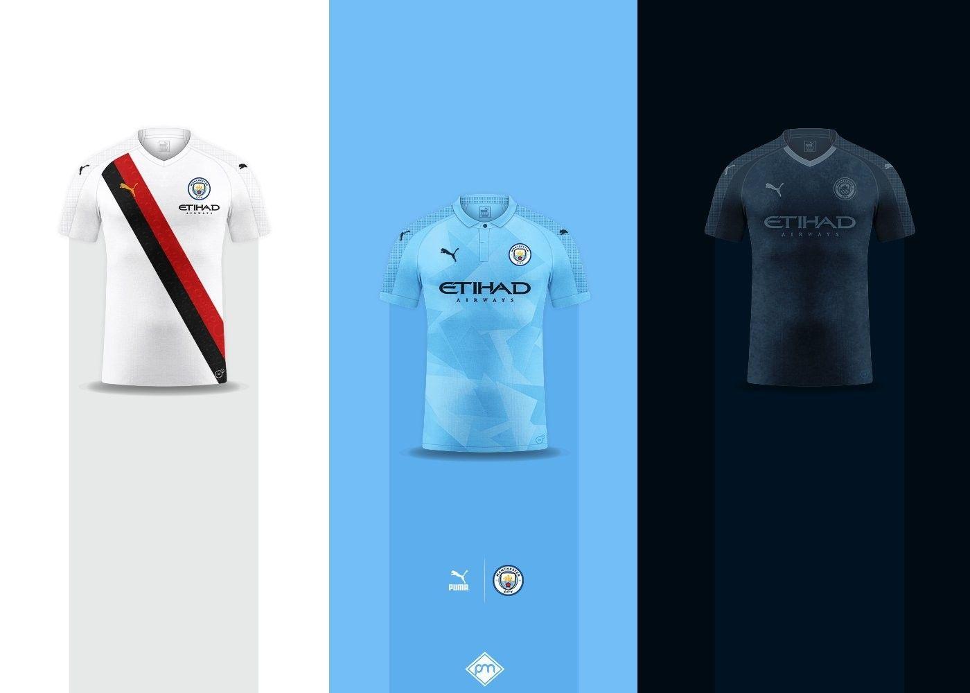 Manchester City 2019 2020 Football Shirts Manchester City Football