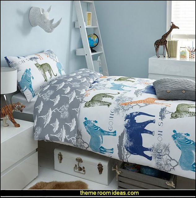 There are many ways to decorate. Going on Safari jungle theme bedrooms - safari jungle