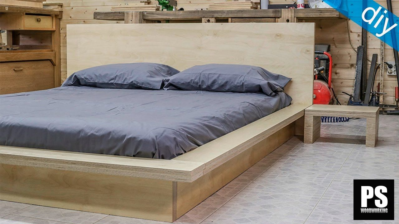 How to make a plywood Tatami Bed | BED | Pinterest