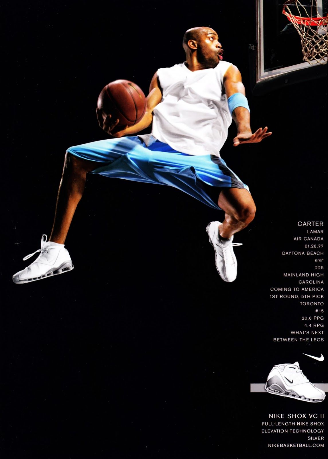 f9cd6823a9e5 Vince Carter can not be explained...Nike Shox VC II