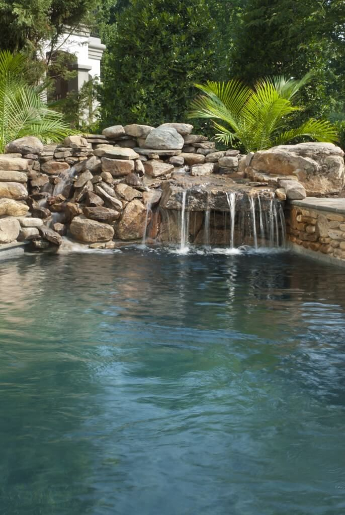 80 Fabulous Swimming Pools With Waterfalls Pictures Swimming