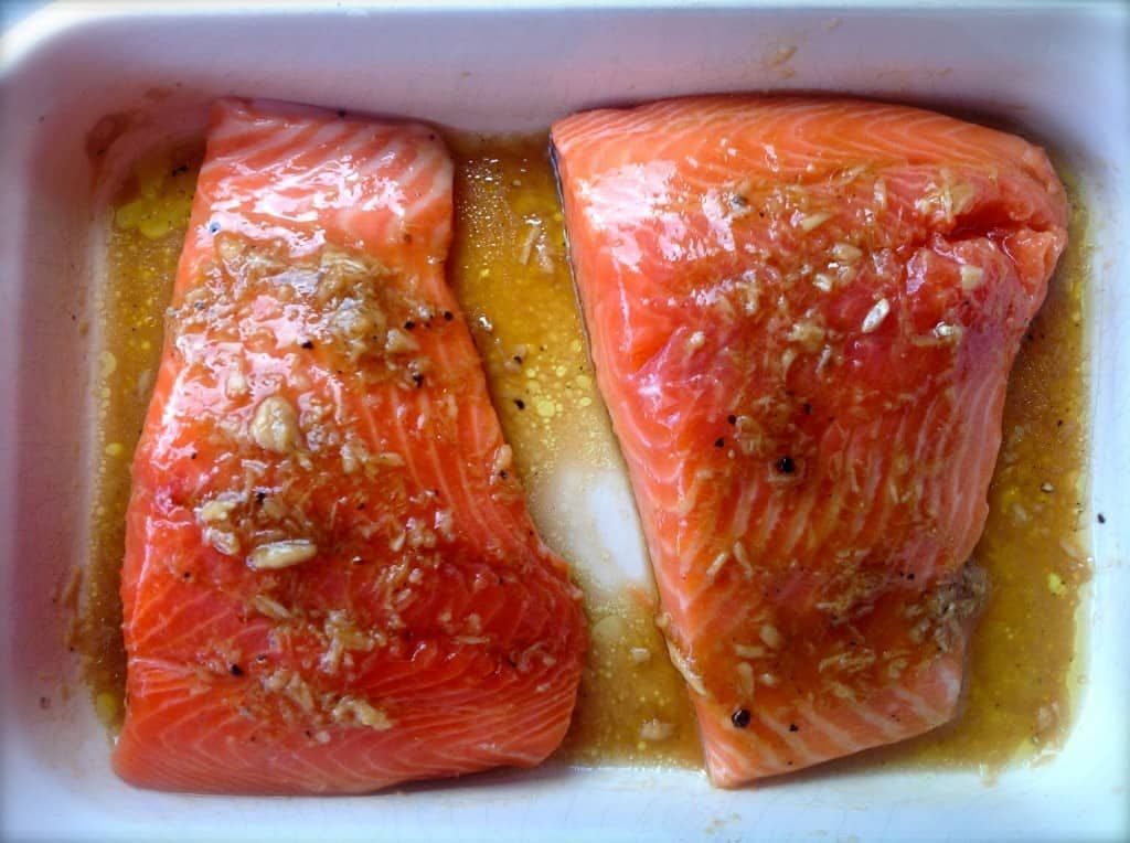 Teriyaki Salmon #teriyakisalmon