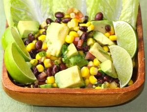 Black bean corn tomato salad, easy vegan recipes, easy vegetarian recipes, easy side dish Follow me for more delicious recipes!