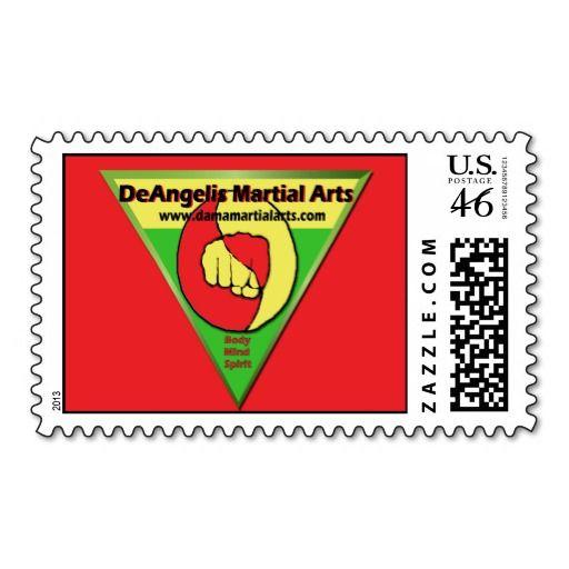 DeAngelis Martial Arts Stamp