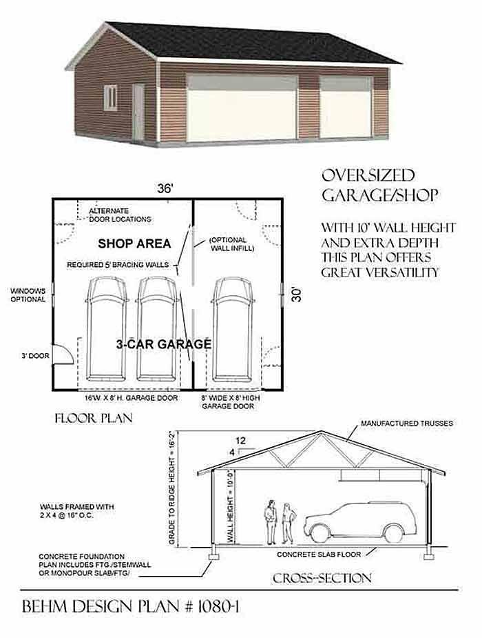 Pin by John Platt on garage Pinterest – Double Car Garage Plans