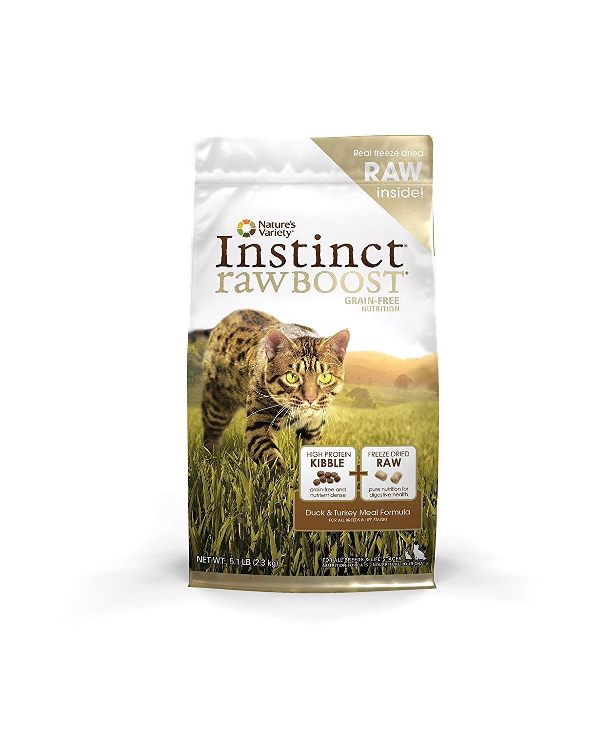 Nature's Variety Instinct Raw Boost Grain Free Duck and