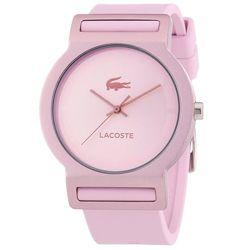 1861fc34e91 Relógio Lacoste silicone rosa Feminino - 2020076