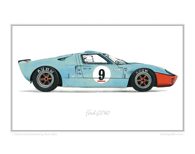 Ford Gt40 Ford Gt40 Classic Racing Cars Ford Gt