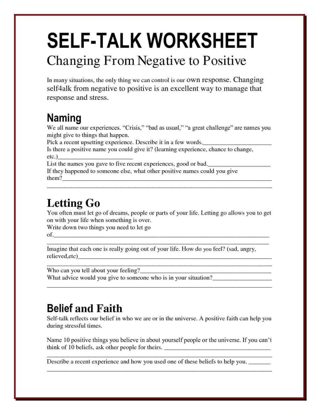 Pin On Therapy Worksheets