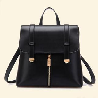Buy 'BeiBaoBao – Faux Leather Convertible Backpack' with Free ...