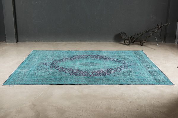 Badezimmerteppich grün ~ Vintage teppich grün the knots rugs all stars pinterest