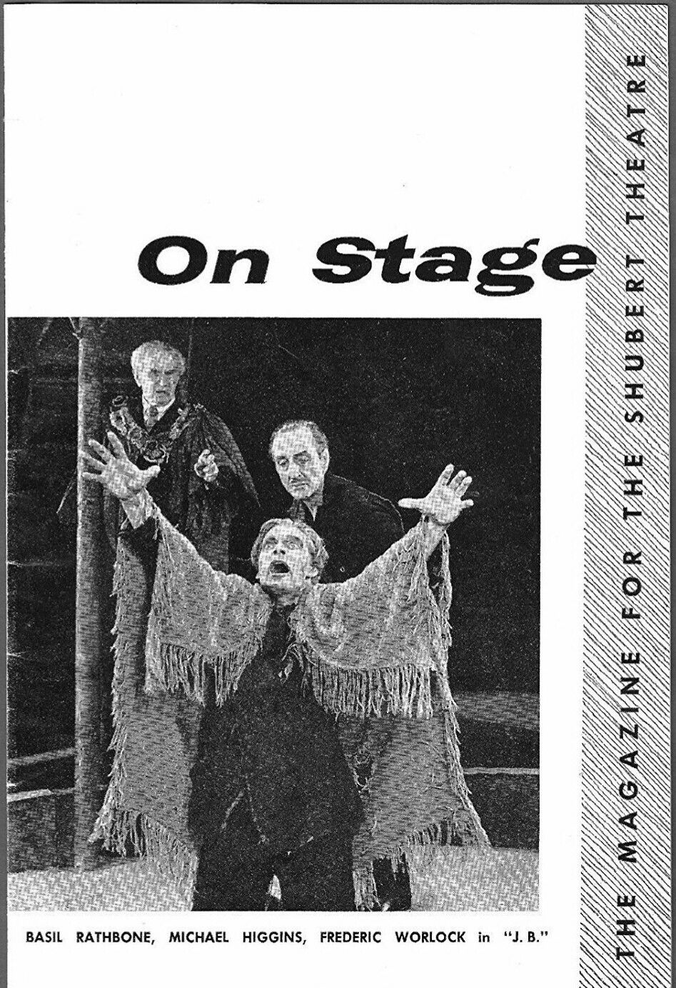 Theatre Programme From The Premiere Detroit Production Of Pulitzer Prize Winning Archibald Macleish Play