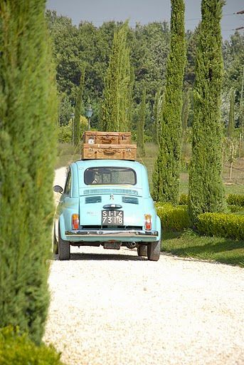 Summer in Italian countryside