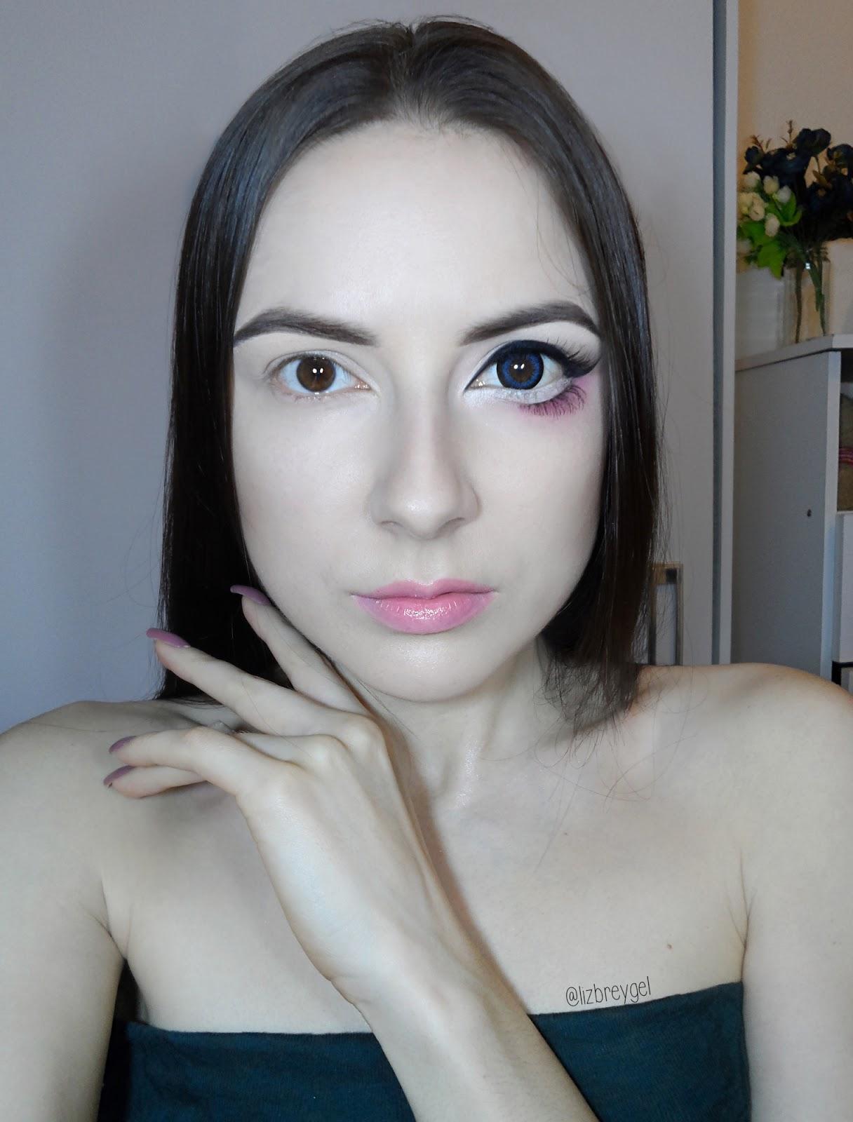 Big Anime Eyes (With images) Eye enlarging makeup, Big