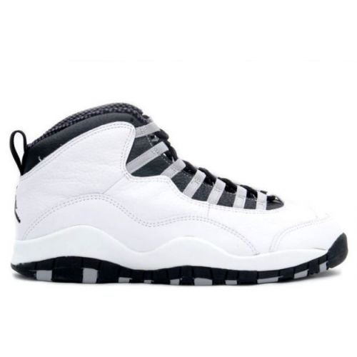 Air Jordan 10 OG. Notice the strip of leather on the toecap. When MJ saw  this fcdb6d70216