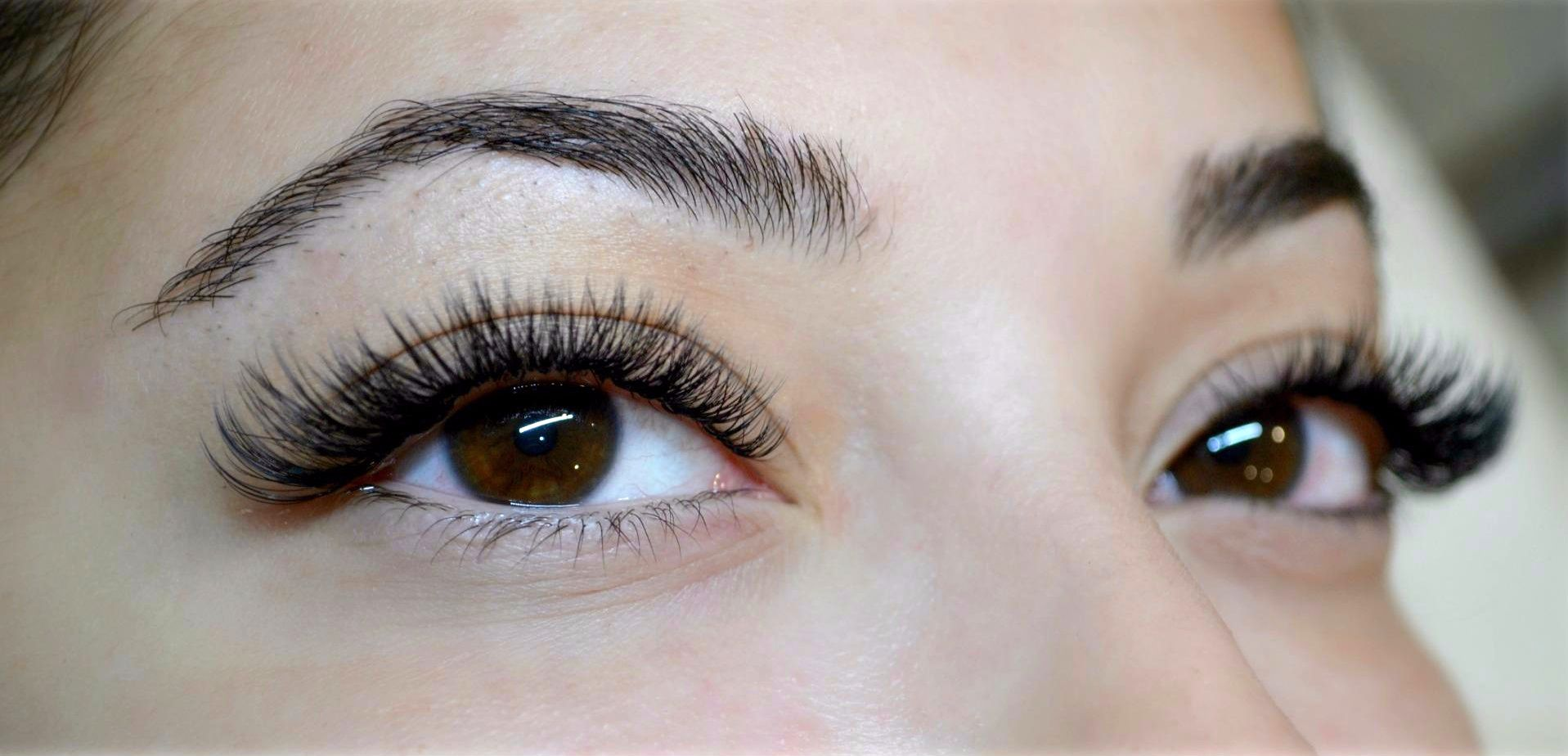 Eyelash Extensions Full Set 300 Eyelash Extensions Done By Karolina