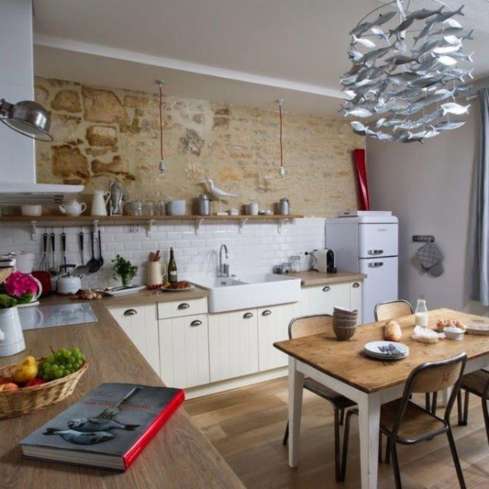 Normandie : maison normande typique, déco bord de mer  Maison