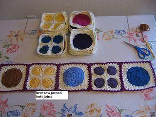 Tutorial for Joining Crochet Afghan Blocks