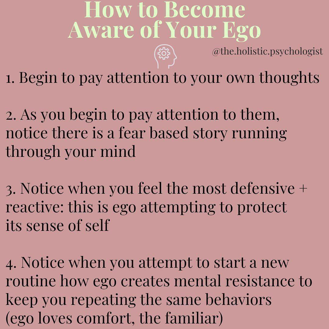 Dr nicole lepera on instagram ego work aware