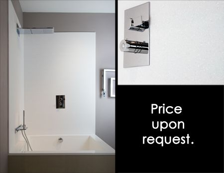 White Shower Wall Panels and Waterproof Wall Panels | Bathroom ...