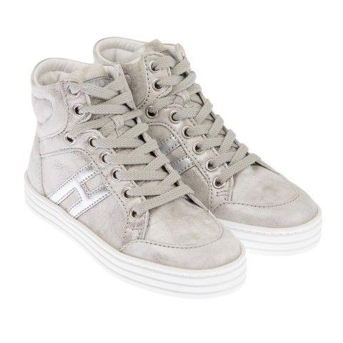Hogan Enfants Chaussures De Sport Haut De Haut - Gris qCRV7