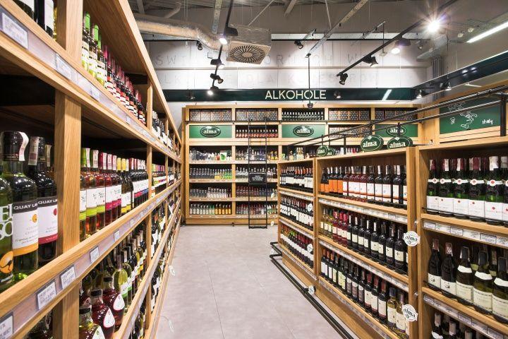 Alma Grocery By Mocolocco Krakow Poland Retail Design Blog Supermarket Design Retail Design Retail Store Design