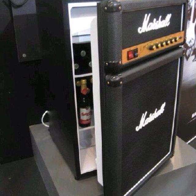 A Marshall fridge!