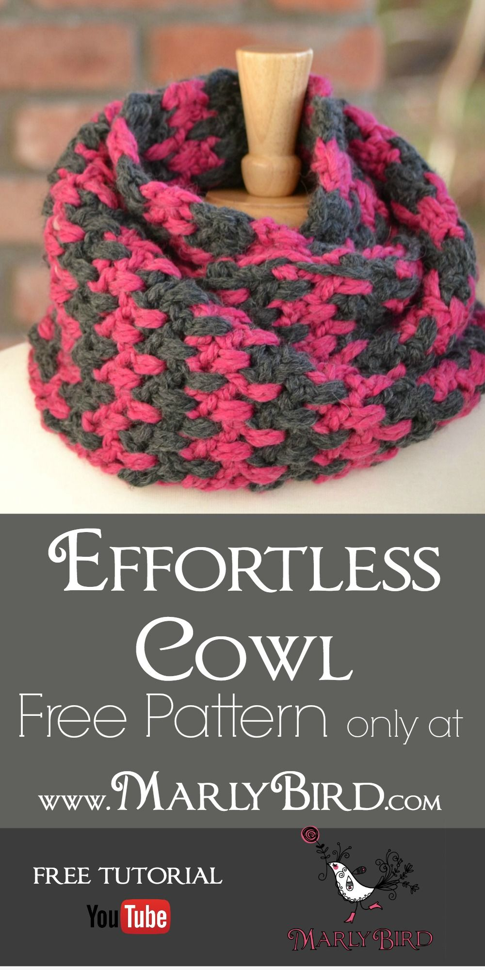 Effortless free crochet cowl pattern made with one skein of super effortless free crochet cowl pattern made with one skein of super bulky yarn bankloansurffo Choice Image